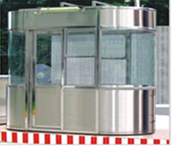 SCGT903不锈钢椭圆岗亭