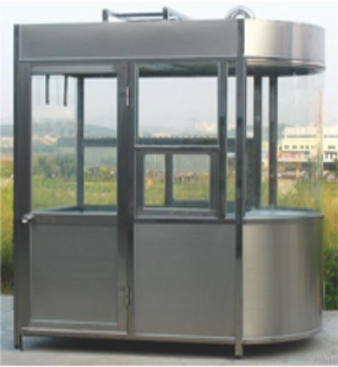 SCGT904不锈钢椭圆岗亭